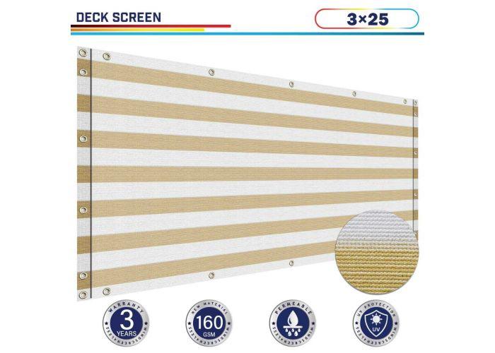 hdpe fabric balcony screen privacy