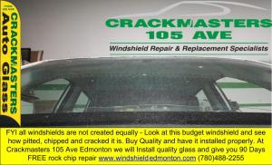 choose a quality windshield