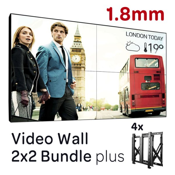 2×2-Wideo-wall-1.8mm