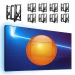 3×3-Wideo-wall