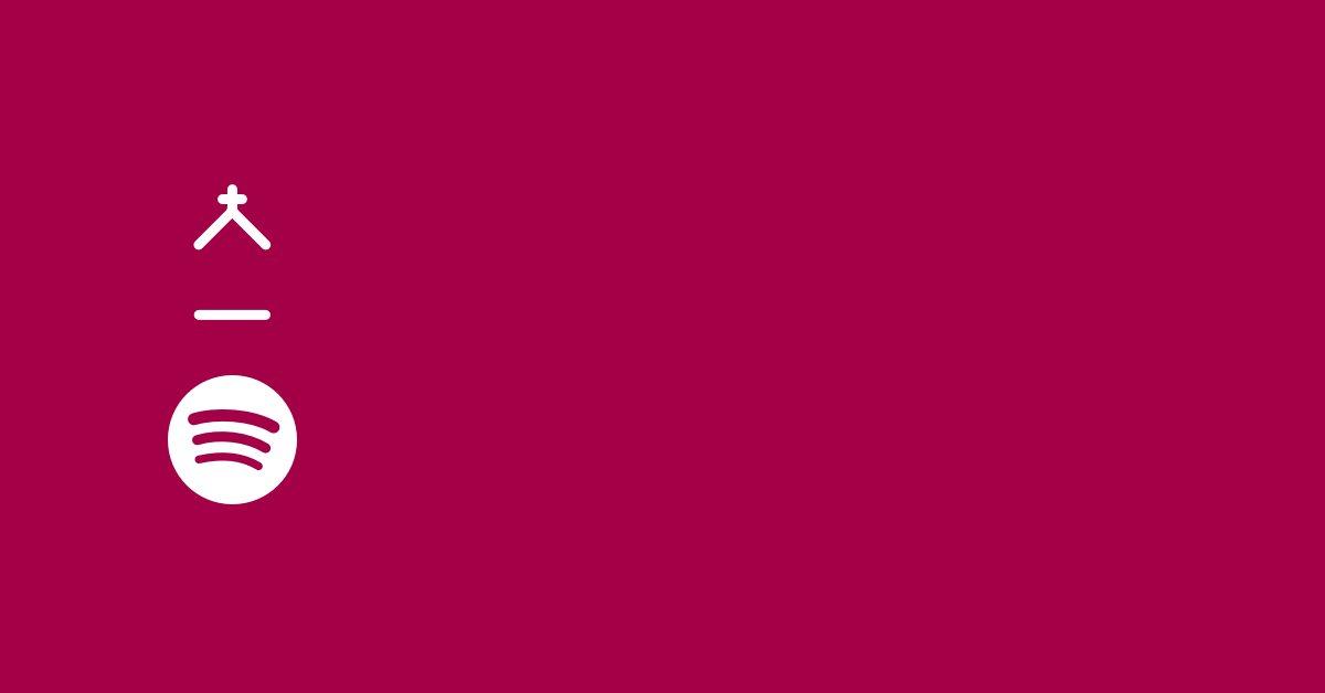 The Windsor Baptist Church logo alonside the Spotify logo