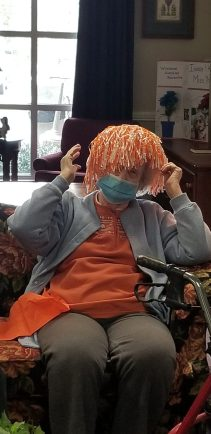 20210319 152251 scaled - Windsor Gardens Assisted Living residents supporting the VOLS in the NCAA Tournament