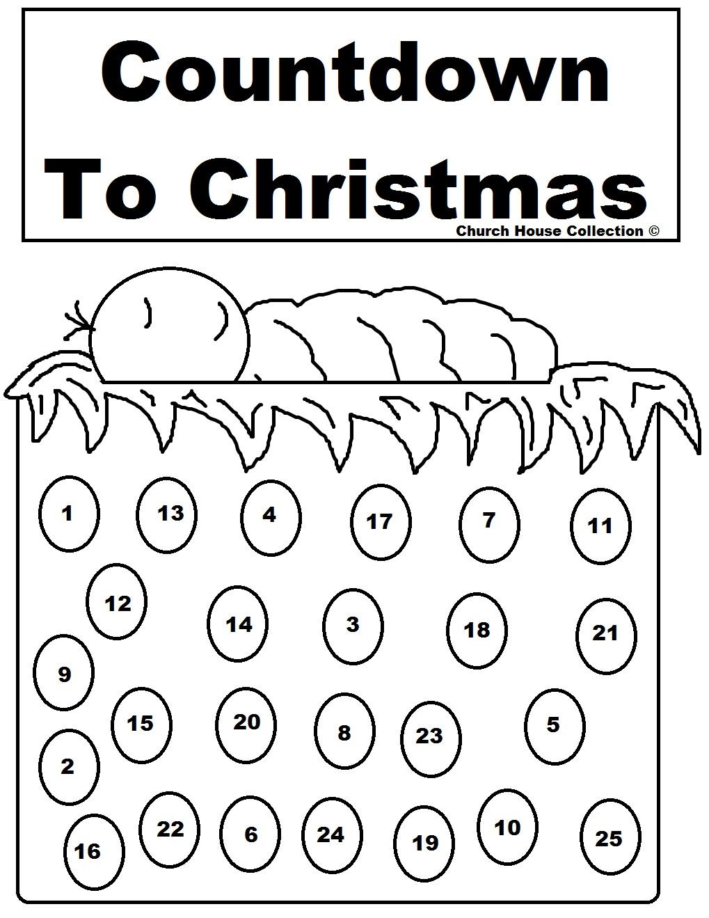Activities for Kids – Advent 1