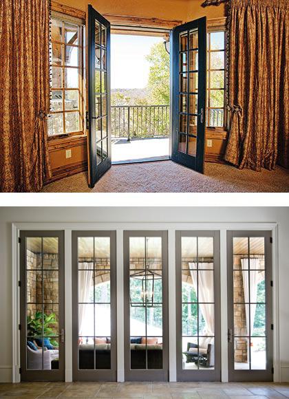 Narrow Interior Double Doors