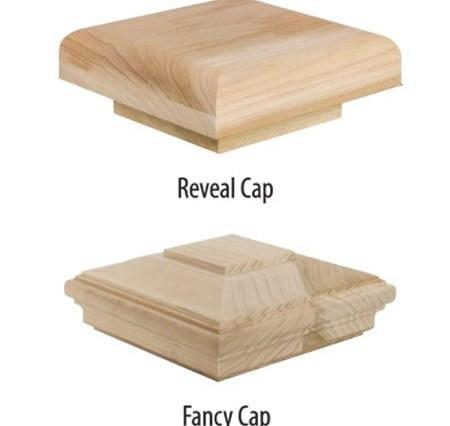 Box Newel Posts »Windsor Plywood® | Newel Post Cap Designs | White Oak | Decorative | Strong | Porch | Diy