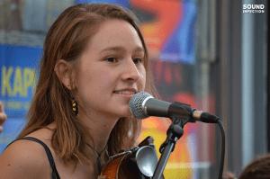 Paula während dem  Platzhirsch Festival 2015