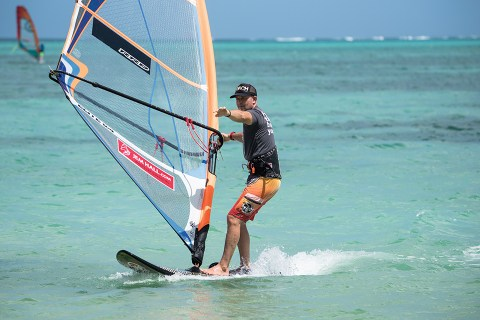 Learn to Heli Tack windsurfing technique