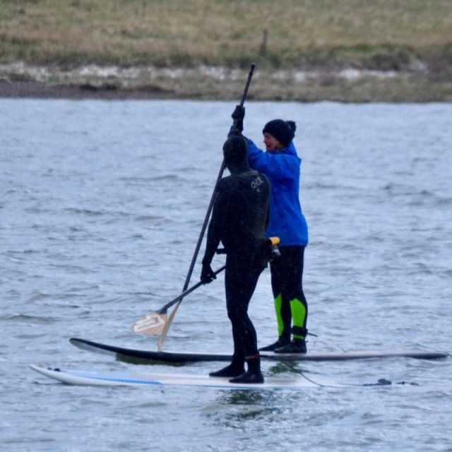 2 Stand Up Paddleboarders