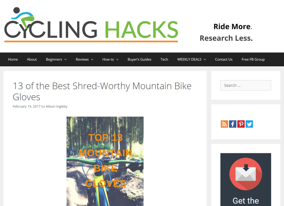 Cycling Hacks Buyer's Guide