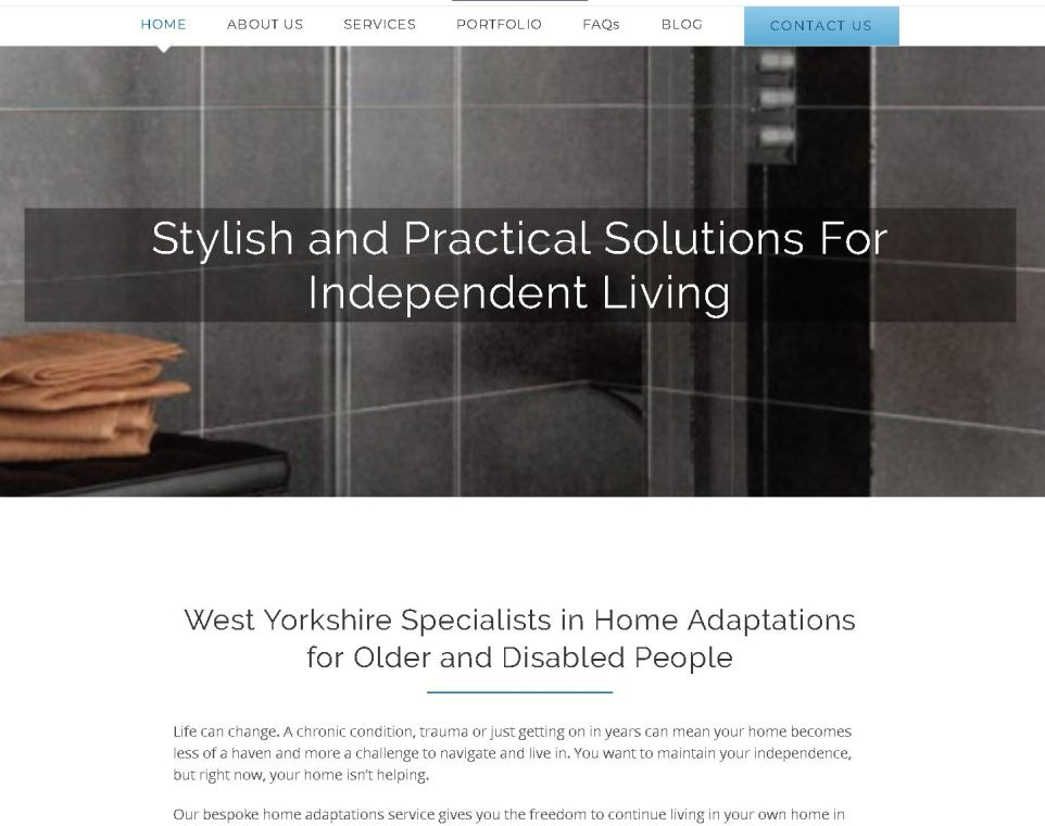 Branding, Content & Website Design for Yorkshire Independent Living