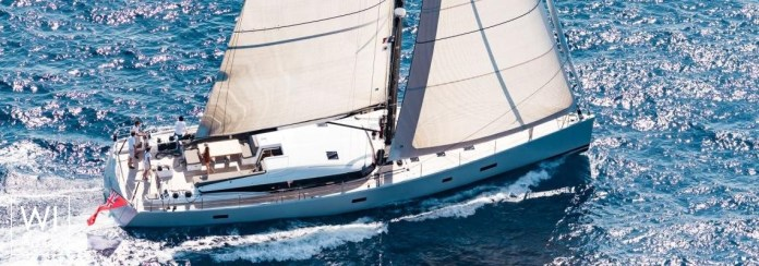 The luxury yacht CNB 76 Neyina combines elegance and performance.