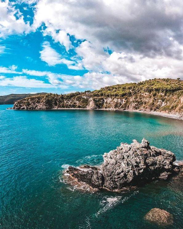 Acquarilli Beach - Tuscany, Italy nude beach