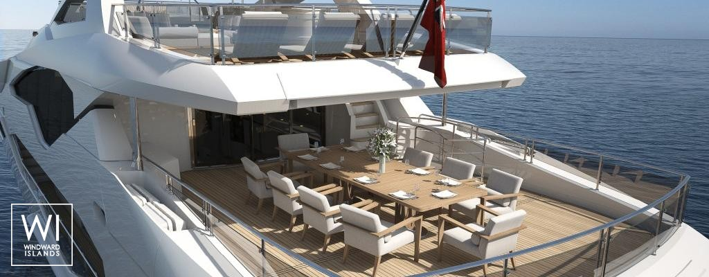 Luxury Yacht Charter Jacozami Sunseeker Yacht 131