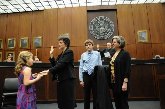 11169 Mary Rowland Sworn In As Federal Magistrate Judge