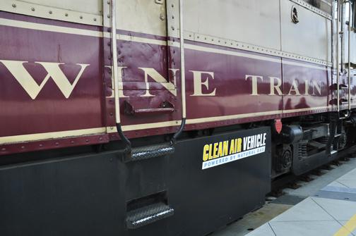 All aboard Napa Valley wine train