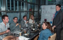 Discover Beaujolais at Pabu Restaurant, San Francisco. (Edgar Solis)