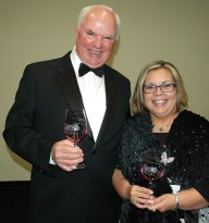 Mike Phillips and Julie Santiago