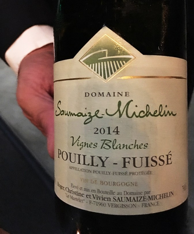 Pouilly-Fuisse wine pairing