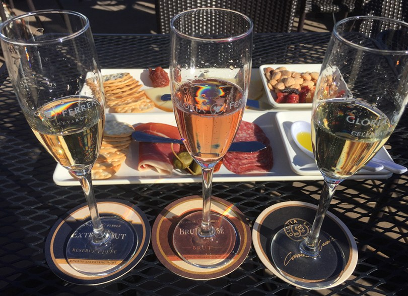 Gloria Ferrer Sparkling and Food