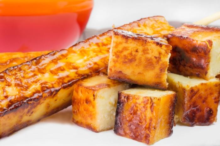 Espetinho de queijo coalho | Winepedia