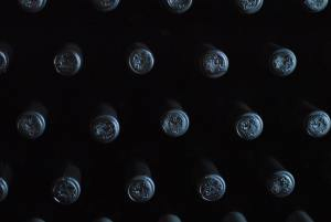 armazenar o vinho na horizontal