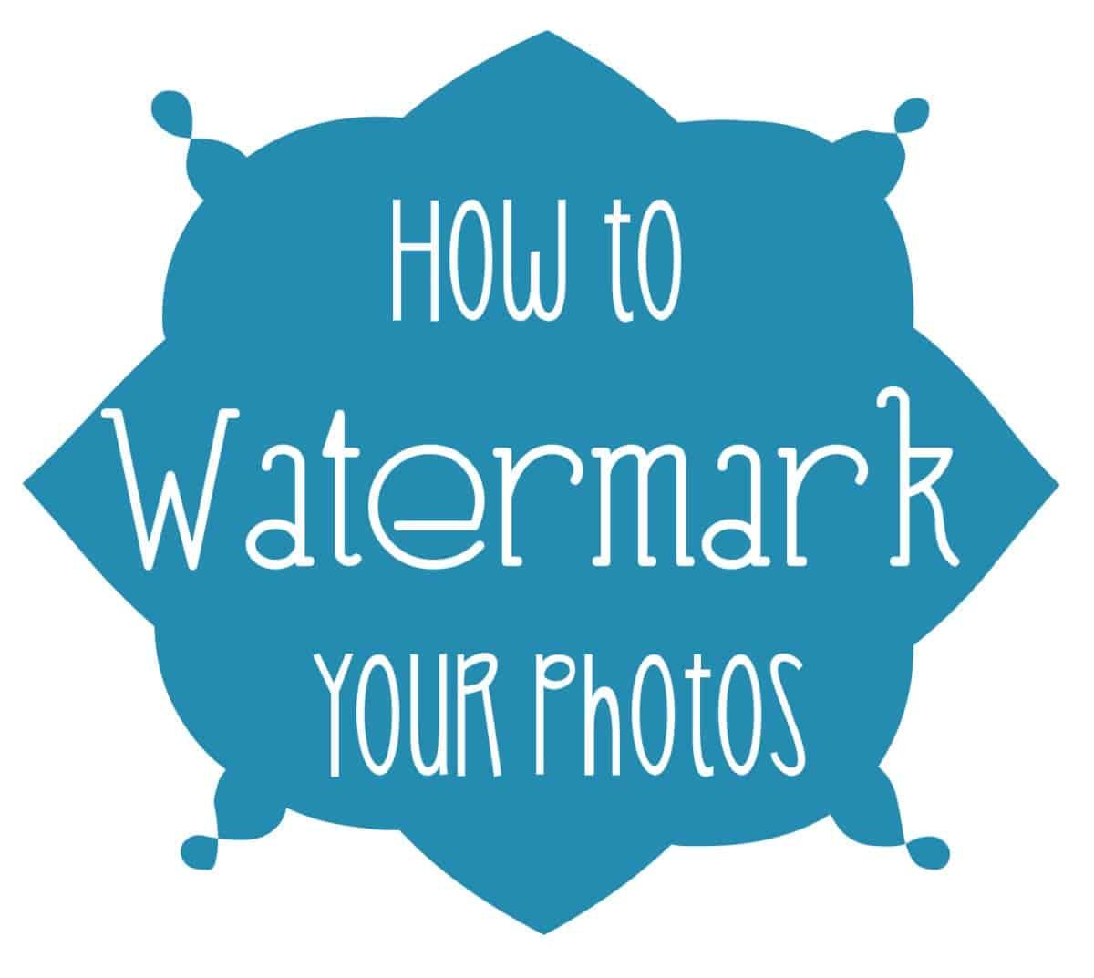 How To Watermark Photos Wine Amp Glue