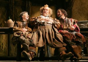 """That winebag! That winevat! That king of paunches"" (tiré de l'Opéra de Verdi, Falstaff - .DR)"