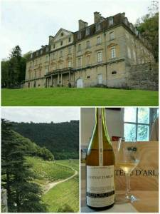 Blanc Tradition 2009. Chateau d'Arlay, Jura, France. July 2016.