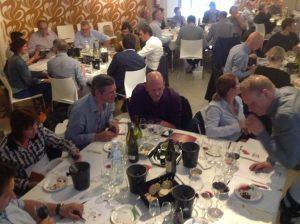 Workshop aroma bridges in food and wine pairing to 70 sommelier colleagues