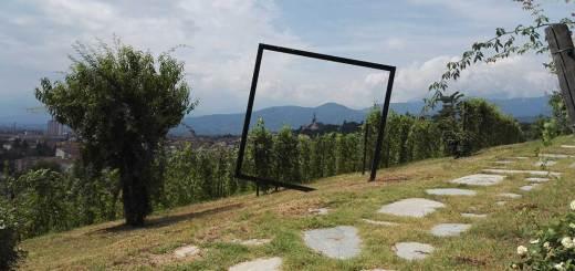 Pinerolo vineyard art Merenda Con Corvi