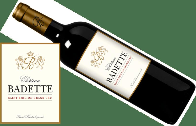 Chateau Badette 2015   750ML   94WA