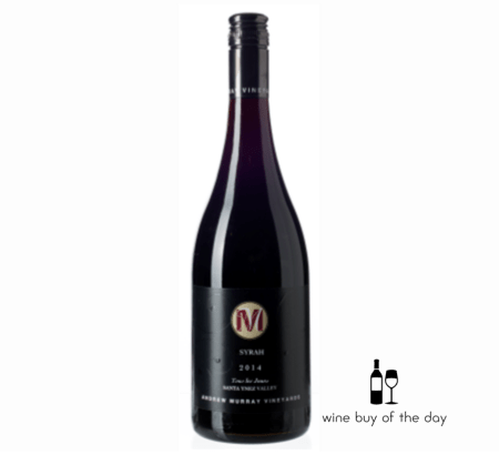 Andrew Murray Tous les Jours Syrah 2015 | 91WE