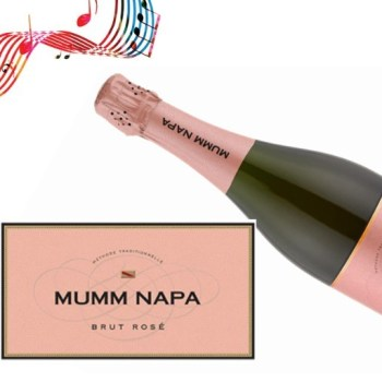 Mumm Napa Brut Rose NV | 91WE