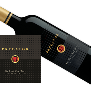 Predator Six Spot Red Blend 2015
