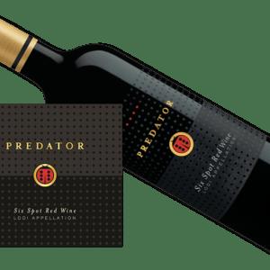 Predator Six Spot Red Blend 2015