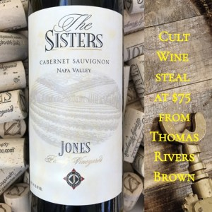 Jones Family Vineyards The Sisters Cabernet Sauvignon 2013