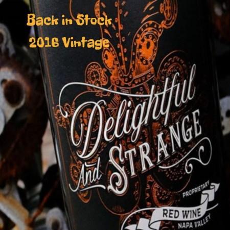 Delightful and Strange Red Blend 2016