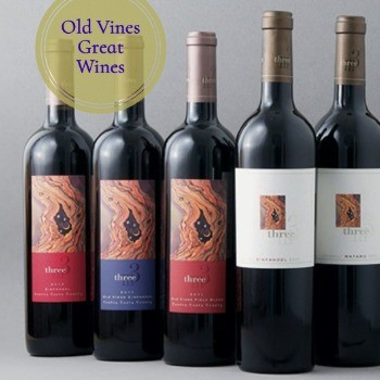 Three Wine Live Oak Zinfandel 2015