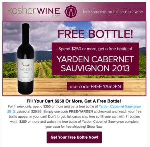 Kosher Wine Club Special Offer