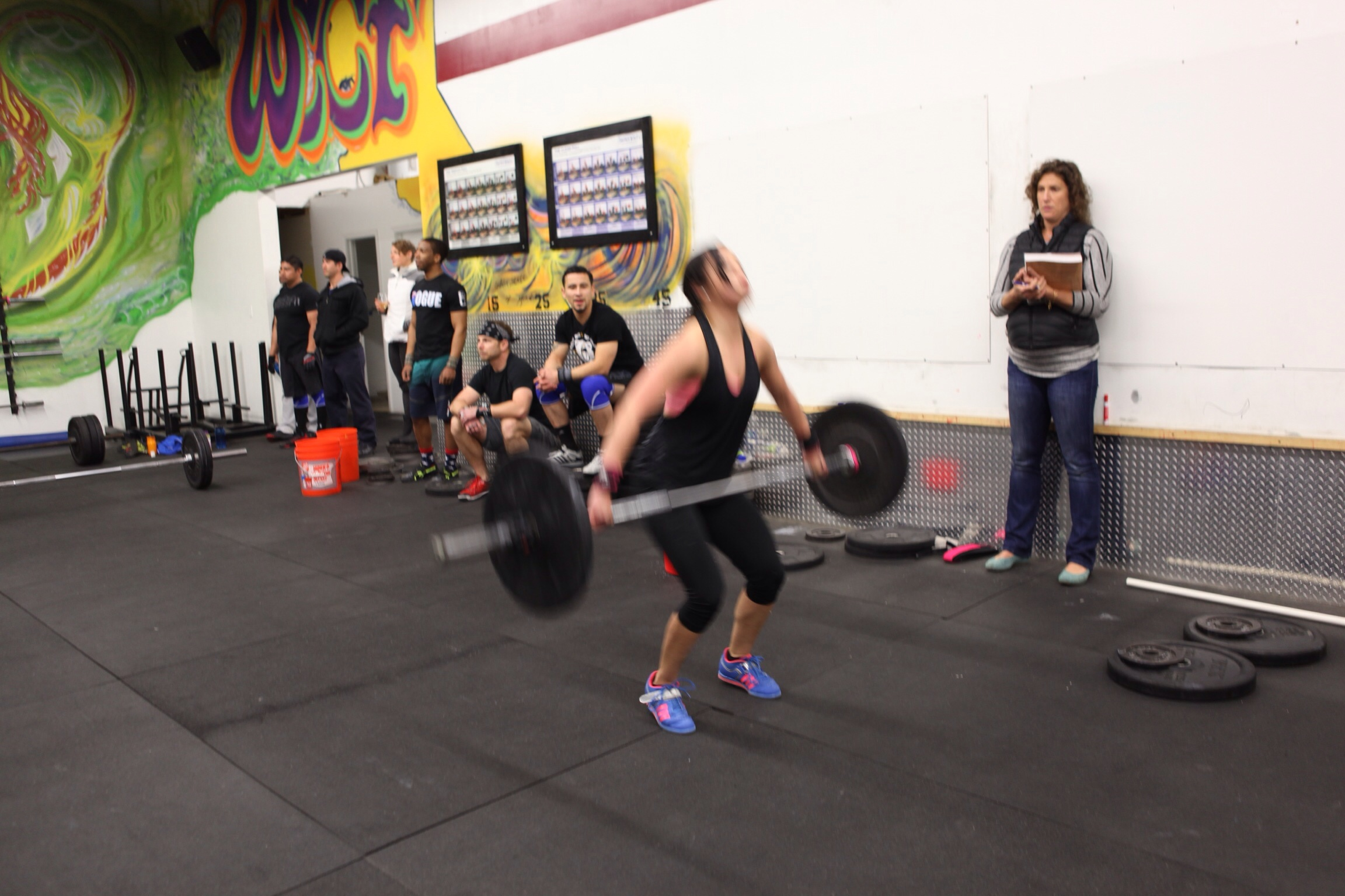 Wine Country CrossFit | First Open Workout: Success!