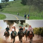 Blazing Saddles – Bike & Horseback Tour