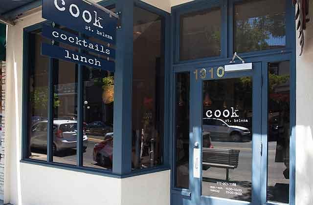 Cook St. Helena restaurant