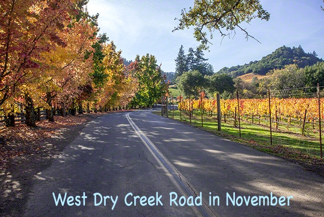 west dry creek road