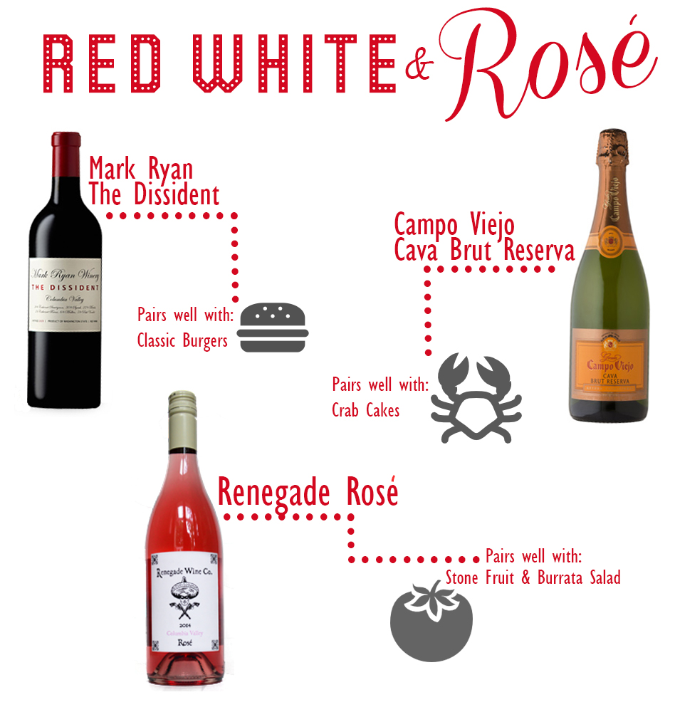Red-white-and-rose