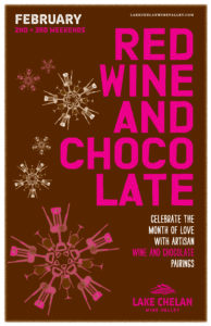 Red Wine and Chocolate Lake Chelan