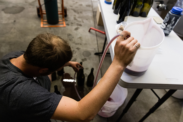 Bottling and Shea / Photo by Chris Low