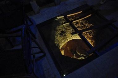 Secret passage at Torre del Veguer