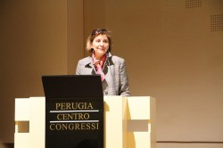 Chiara Lungarotti MTV President speaking at IWINETC 2012