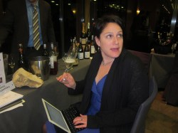 Wine Blogger at Wine Pleaures Workshop
