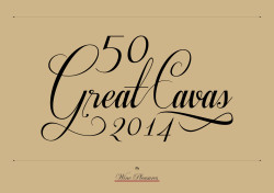 50 Great Cavas 2014 cover